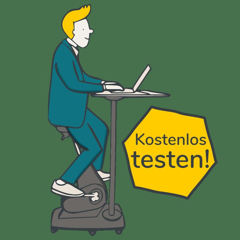 FitSeat Workstation kostenlos testen